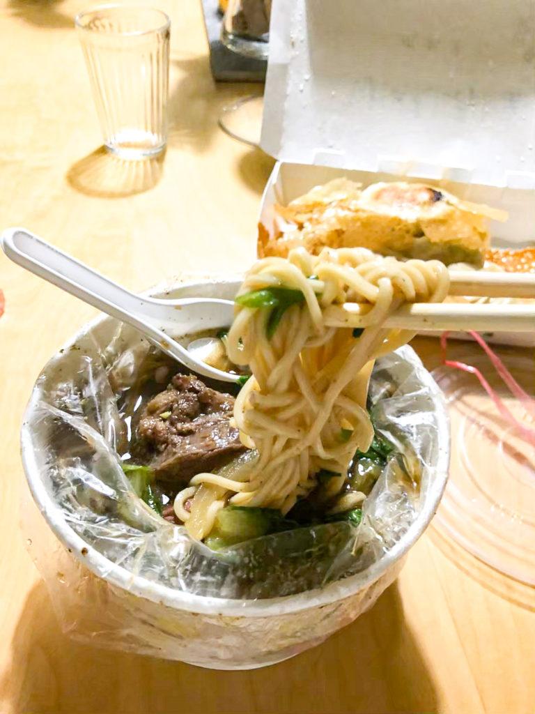 台湾グルメ、牛肉麺