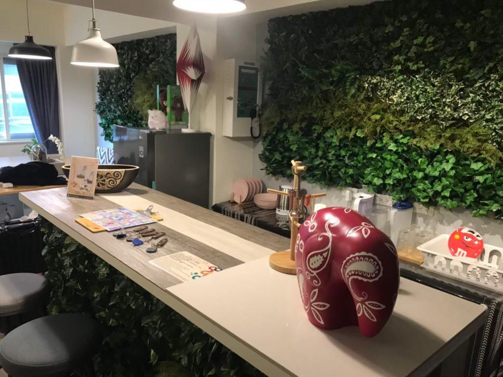 子連れ台湾ホテルブログ airbnb内装キッチン