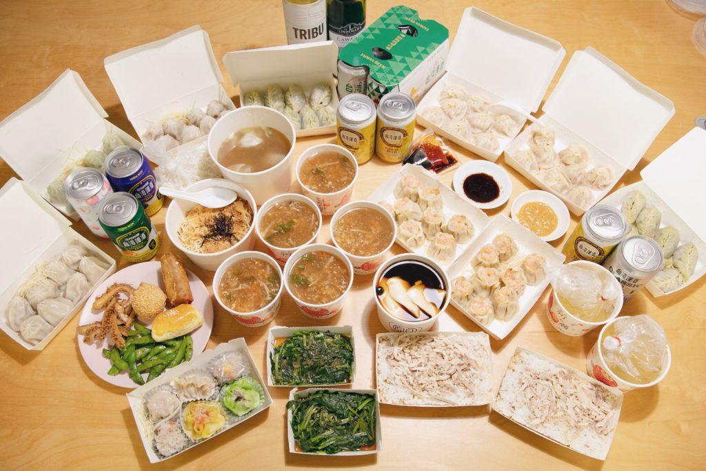 台湾、UBER  EATS、小籠包