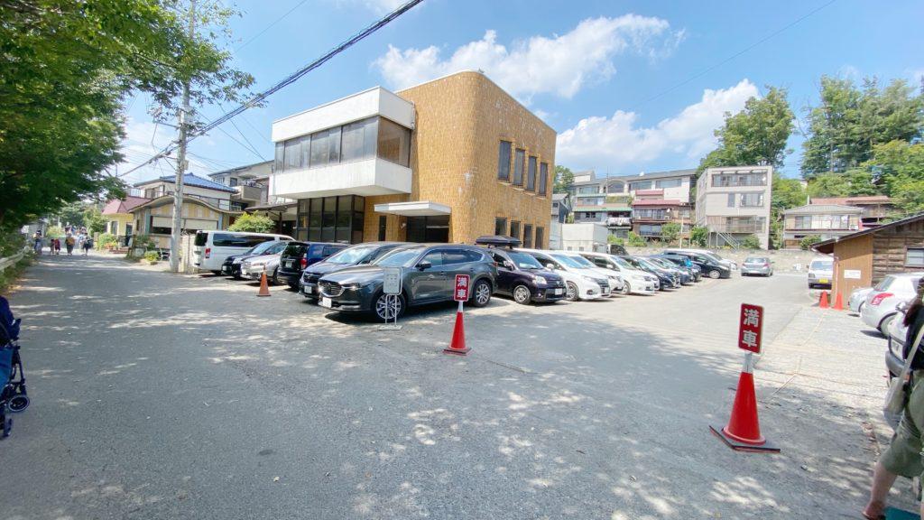 飯能河原 駐車場