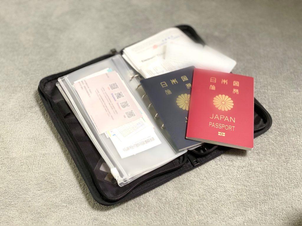子連れ海外旅行 持ち物 無印良品パスポートケース